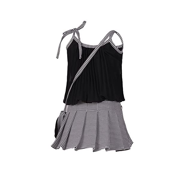 Aarika Girls' A-Line Mini Dress 4 51k1vwresyL