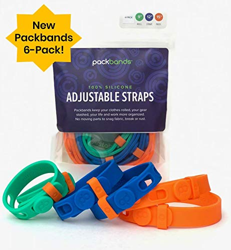 The Packbands Multipurpose Adjustable Storage Straps travel product recommended by Martha Spelman on Lifney.