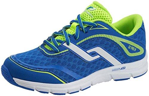 Pro Touch Oz Pro 4Jr - Zapatillas para correr, color azul/lima Blue/Green Lime