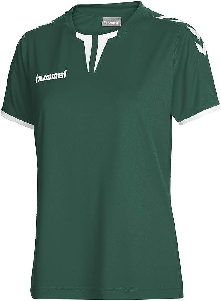 XL Evergreen Hummel Damen Trikot Core Short Sleeve Jersey