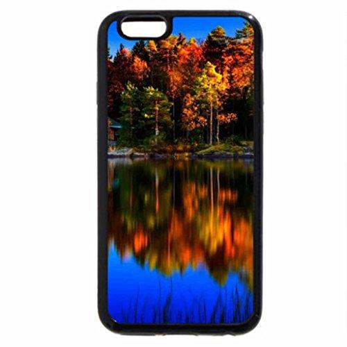 iPhone 6S / iPhone 6 Case (Black) Reflection Lake