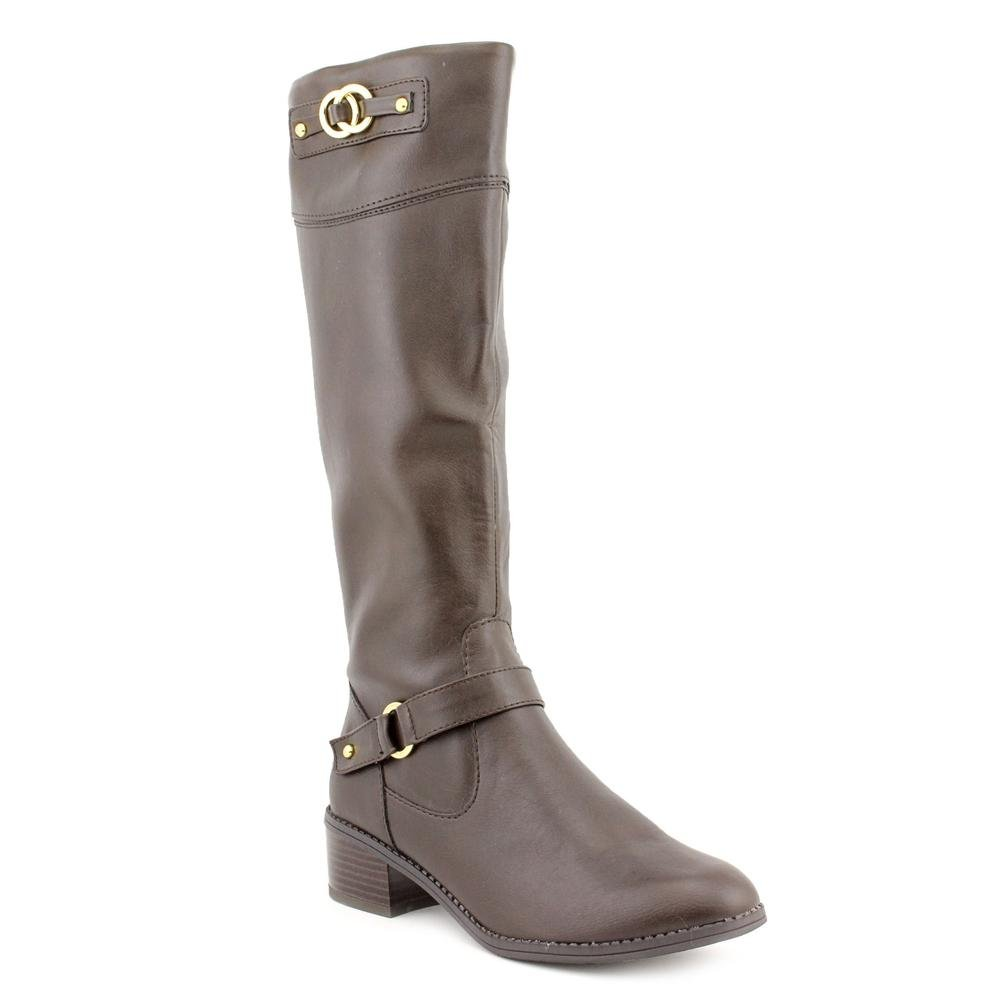 f6372c8671068 Karen Scott Delano Womens Size 11 Brown Fashion Knee-High Boots