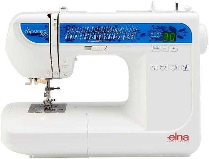 Elna 520EX - Máquina de coser: Amazon.es: Hogar