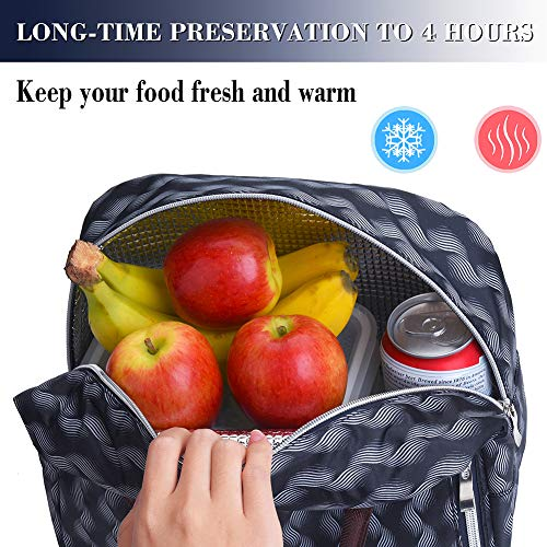 Lunch Bags For WomenInsulated Lunch Box Tote Bag Lunch Organizer Lunch Holder For