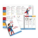 Ketogenic Diet Pocket Guide and Fridge Chart - Best Keto Guide to Reach Ketosis - Ketosis Guide - Best Ketogenic Diet Guidelines