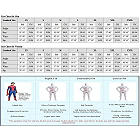 - 51k1yEs9R1L - Riekinc Bodysuit Womens Zentai Cosplay Costume Audlt/Kids