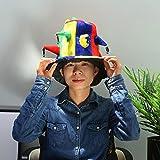2018 World Cup Spain England Portugal football team bar KTV fan carnival Hedgehog Hat High hat (Color : B)