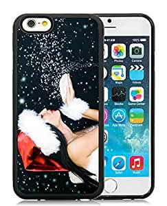 Personalized Case Cover For Apple Iphone 5C Merry Christmas Black Hard Case 32