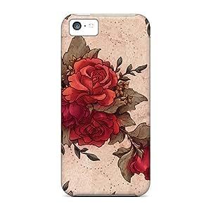 Excellent Design Roses Phone Case For Samsung Note 4 Cover Premium PC Case