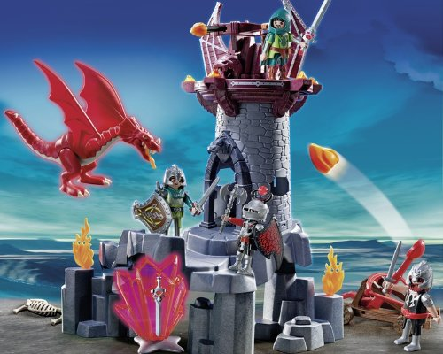 Playmobil 5984 Knights and Dragon Castle Playset