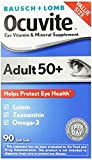 Bausch & Lomb Ocuvite Adult 50+ Vitamin & Mineral Supplement Soft Gels, 3Pack (150-Count Bottle Each )