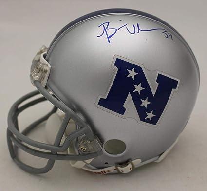 53928c1ffdc Brian Urlacher Signed Mini Helmet - NFC SGC 23330 - Autographed NFL Mini  Helmets