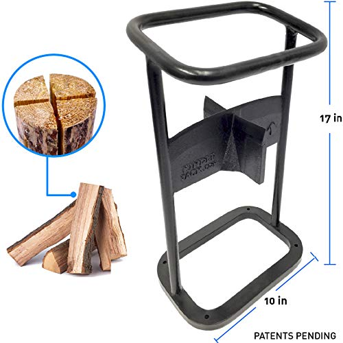 EasyGoProducts EGP-FRE-019-1 Jack-The 4 Way Firewood Kindling Tool – Wood Log Splitter