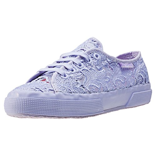 Superga 2750 Macramew Womens Trainers - Violet (Large Image)