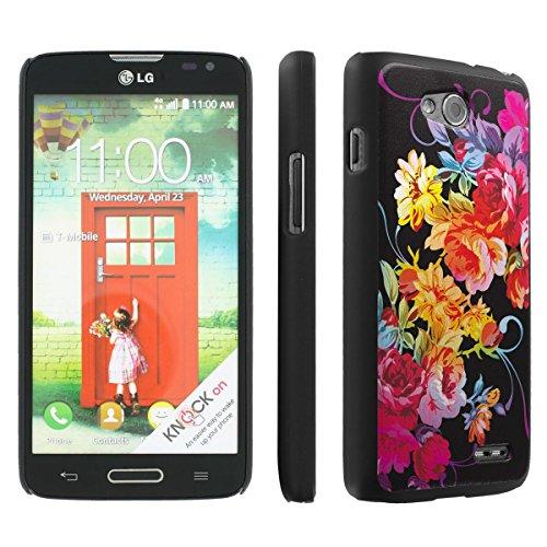 Skinguard LG Optimus L90 (Rainbow Rose) Ultra Slim Light Weight Case Cover