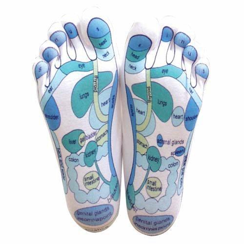Foot Reflexology Chart - 6