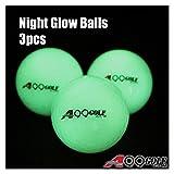A99 Golf Night Glow Balls Brihgter Luminous Ball 3pcs