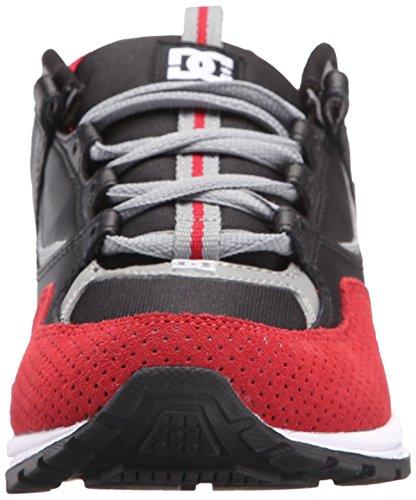 DC–para hombre KALIS Lite Low Top Zapatos negro/ rojo