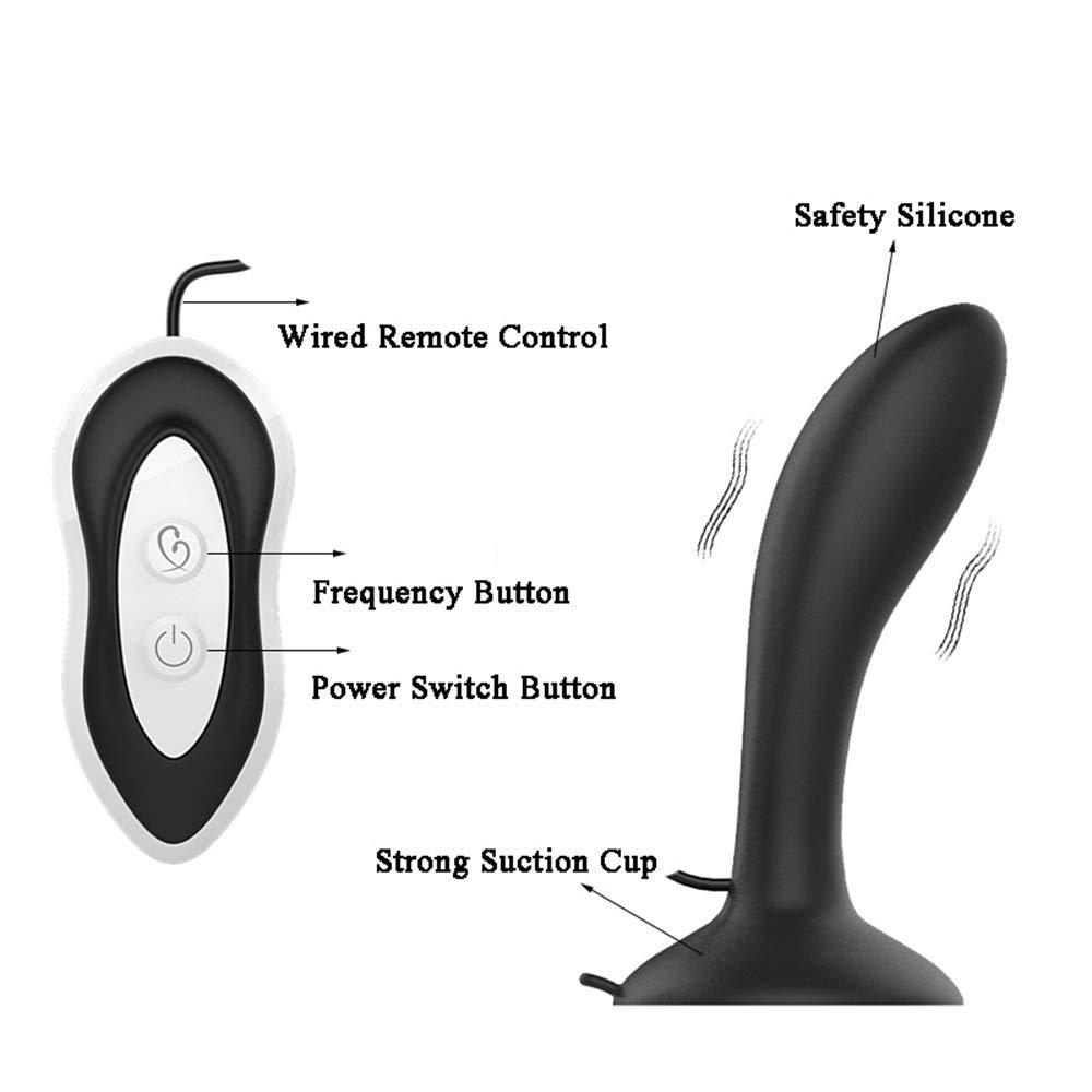 Nueva 7-Banda De Silicona Con Con Con Cable De Control Remoto Plug Vibrante Vibrante Sacudiendo La Espalda Corte Sexy Masaje 81ad28