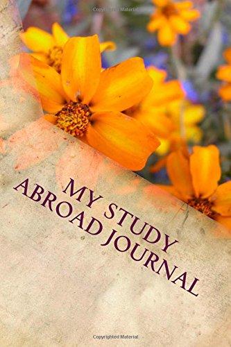 My Study Abroad Journal: Blank Writing Journal