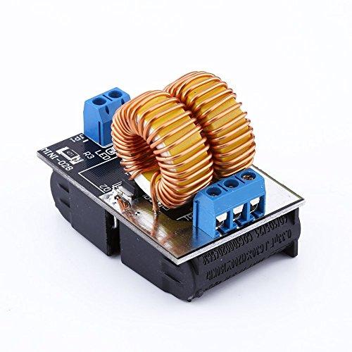 Akozon ZVS Board DC12-30V 20A 1000W ZVS Power Supply Driver Board Induction Heating Module Heater