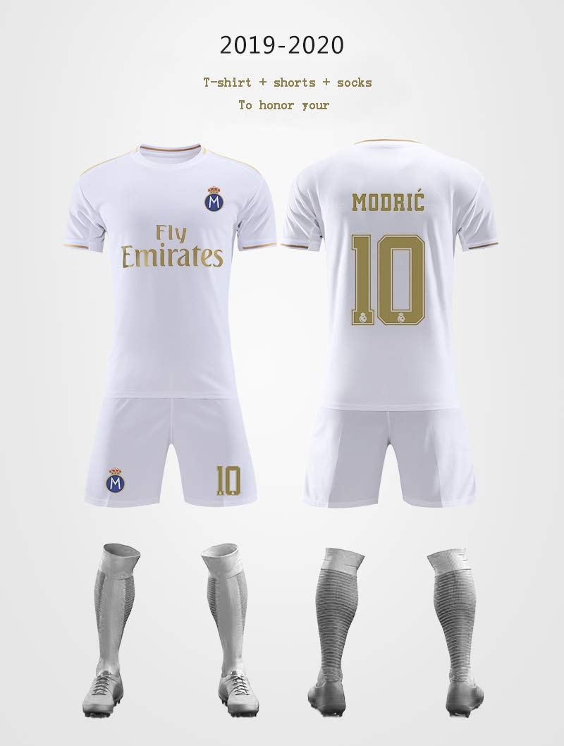 jersey Real Madrid Luka Modric # 10, 2019/20 Real Madrid ...
