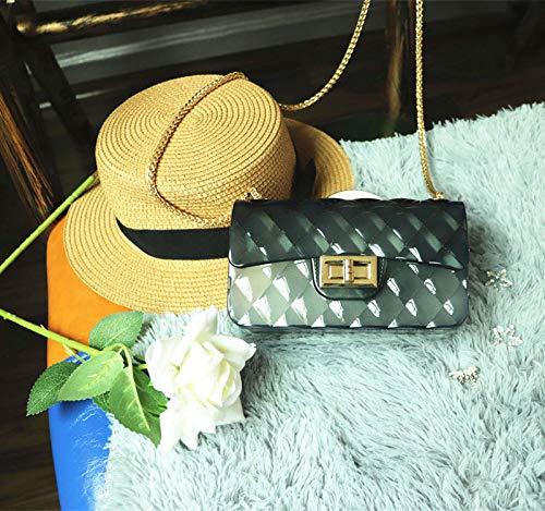 Amazon.com: Spring and Summer Fashion women handbags for pvc ...