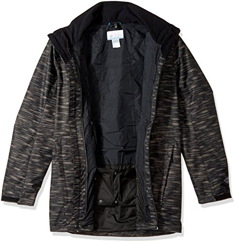 Interchange Men's Columbia Tall Texture Whirlibird Jacket Black Bxxrt1wq