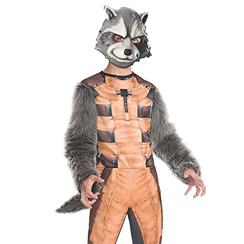 Rubies Guardians of The Galaxy Deluxe Rocket Raccoon Costume, Child Large - http://coolthings.us