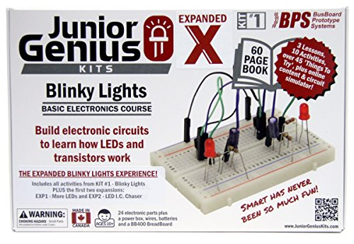 Junior Genius Kit #1 - Blinky Lights Expanded - Base Kit with first ...
