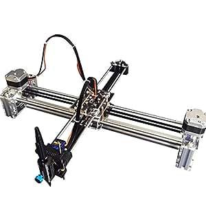 Amazon.com Robot House Acrylic DIY Drawing Robot Kit Writer XY Plotter IDraw Hand Writing Robot ...