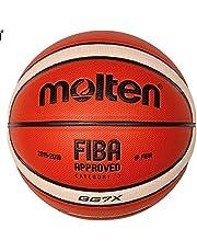 Molten GG7X Tamanho oficial # 7 Couro PU/Treinamento ao ar livre Bola de Basquete Match Ball