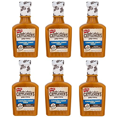 (French's Cattlemen's BBQ Sauce Carolina Tangy Gold, 18.0 OZ (pack of 6))