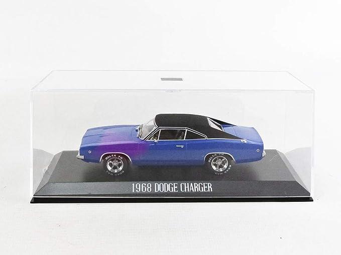 Dodge Charger Christine 1968 azul negro maqueta de coche 1:43 GreenLight Collectible