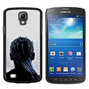 EJOOY---Cubierta de la caja de protección para la piel dura ** Samsung Galaxy S4 Active i9295 ** --Transendece
