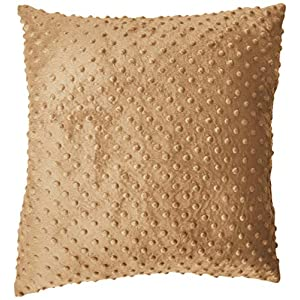 Baby Doll Bedding Heavenly Soft 2 Piece Crib Throw Pillow, Camel