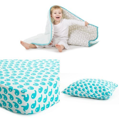 Baby Deedee Toddler Bedding Set, Dream Blue
