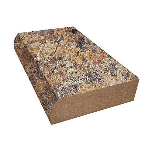 Bullnose Edge Laminate Countertop Trim - Butterum Granite - Etchings ()