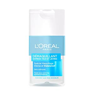 L'Oréal Paris Démaquillant Doux Yeux & Lèvres Waterproof Lot de 2 X 125 ML