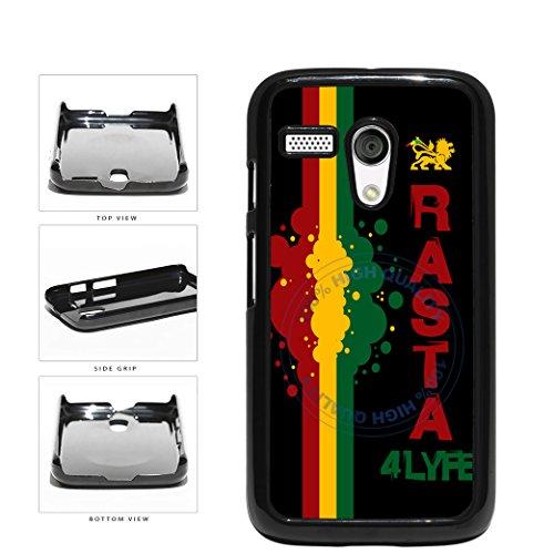 BleuReign(TM) Rasta For Life Plastic Phone Case Back Cover For Motorola Moto G (Motorola Moto G Case Rasta)