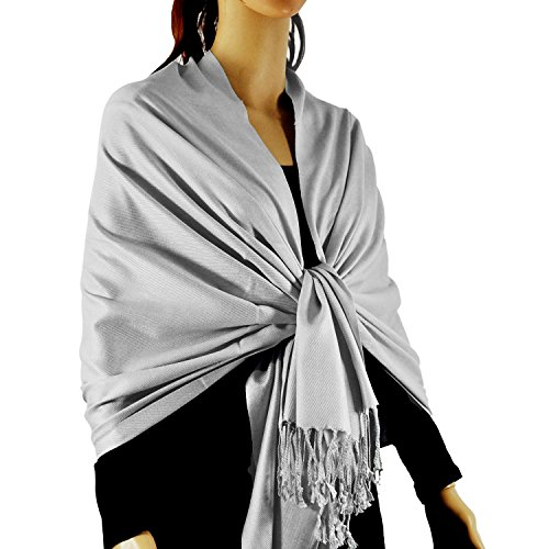 Paskmlna Large Solid Color Pashmina product image