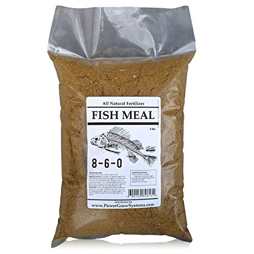 Fish Meals - Fish Meal - Organic Fish Fertilizer 8-6-0 (5 lbs)
