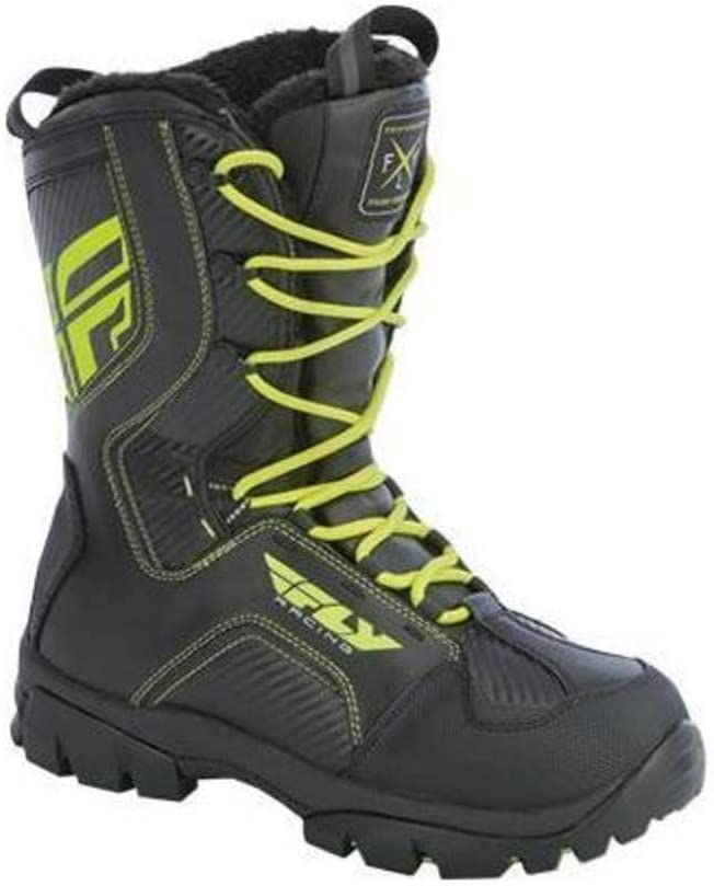 Fly Racing Marker Boots White, 12