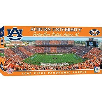 45322f93bba5c2 MasterPieces Collegiate Auburn Tigers 1000 Piece Stadium Panoramic Jigsaw  Puzzle
