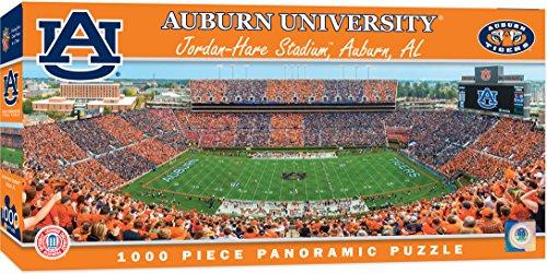MasterPieces Collegiate Auburn Tigers 1000 Piece Stadium Panoramic Jigsaw - Photo Panoramic University