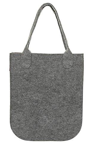 Shopper Filztasche Damentasche Handtasche Schultertasche CITY Filon