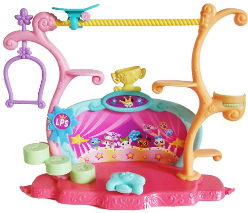 Littlest Pet Shop Talent Show & Tricks Stage Playset Only No Pets No Accessories