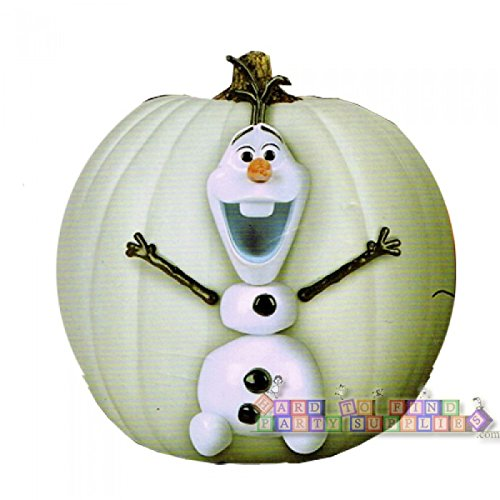 Frozen Olaf Halloween Pumpkin Decorating Kit (Halloween Pumpkins Disney)