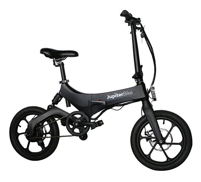Amazon Com Jupiter Bike Discovery Lightweight Folding Pedal Assist