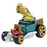 Teenage Mutant Ninja Turtles T-Machines Michelangelo in Hot Rod Diecast Vehicle